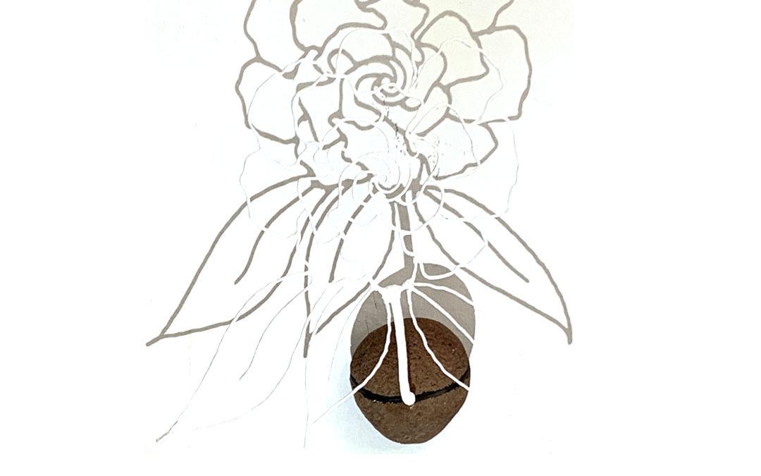 La piedra sueña con la flor